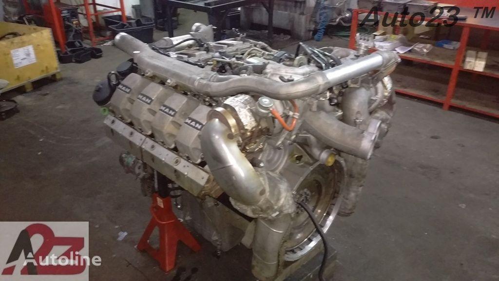 moteur LIEBHERR V8 Euro5 680km MAN V8 (D2868LF) pour grue mobile